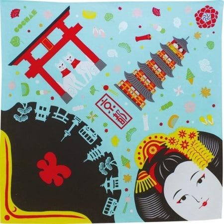 furoshiki motifs kyoto