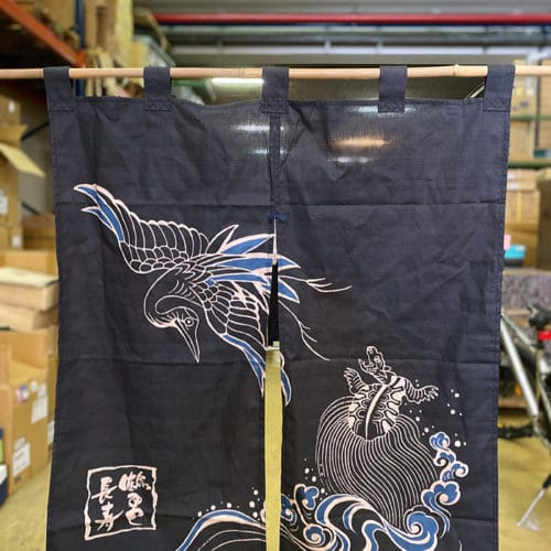 rideau japonais noren