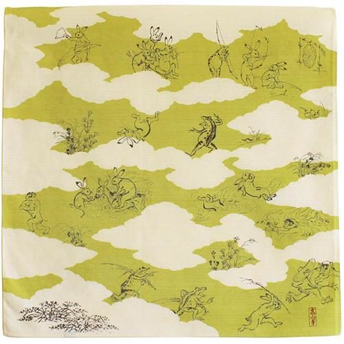 Furoshiki Chojyugiga vert