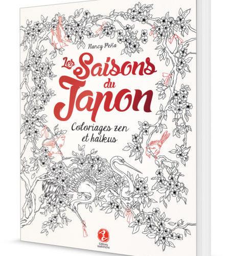 Livre de coloriages zen et haikus